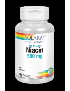 NIACIN 500 MG - 100CAPS
