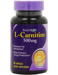 Natrol L-CARNITINE 500 mg...