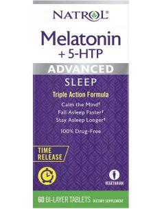 Natrol Melatonina + 5 HTP...