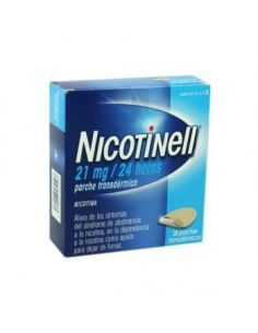 NICOTINELL 21MG/24H 28 PARCHES
