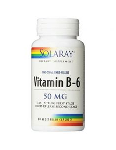 VITAMIN B6 50MG - 60CAPS...