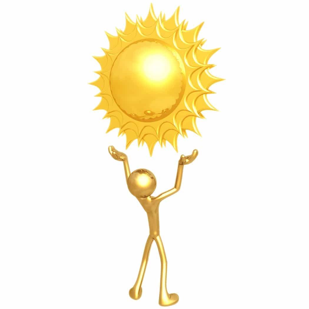 vitamina D del sol